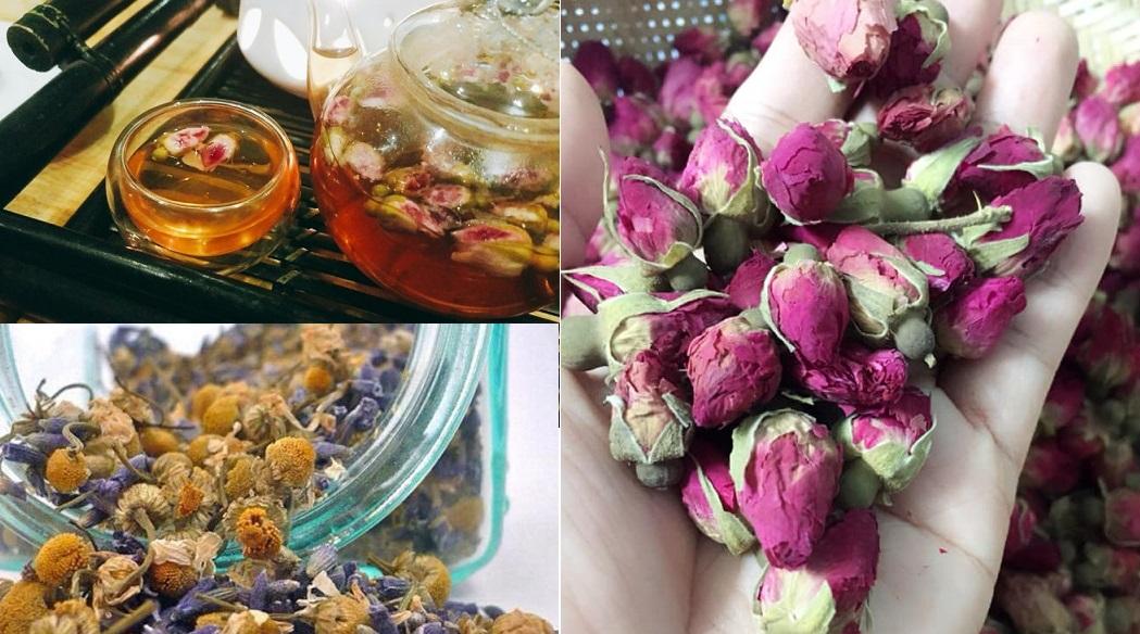 Trà hoa khô nhập nhèm nguồn gốc, khó kiểm soát chất lượng - Ảnh 1