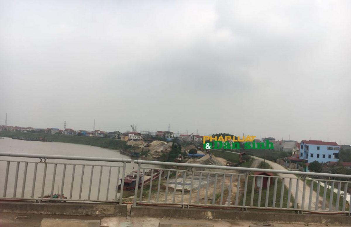 Bắc Giang: Trưởng phòng TN&MT huyện Hiệp Hòa tiết lộ người đứng sau các bãi tập kết không phép   - Ảnh 1