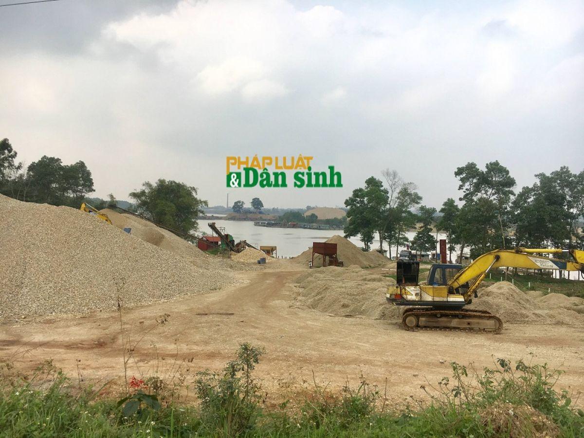 Bắc Giang: Trưởng phòng TN&MT huyện Hiệp Hòa tiết lộ người đứng sau các bãi tập kết không phép   - Ảnh 2