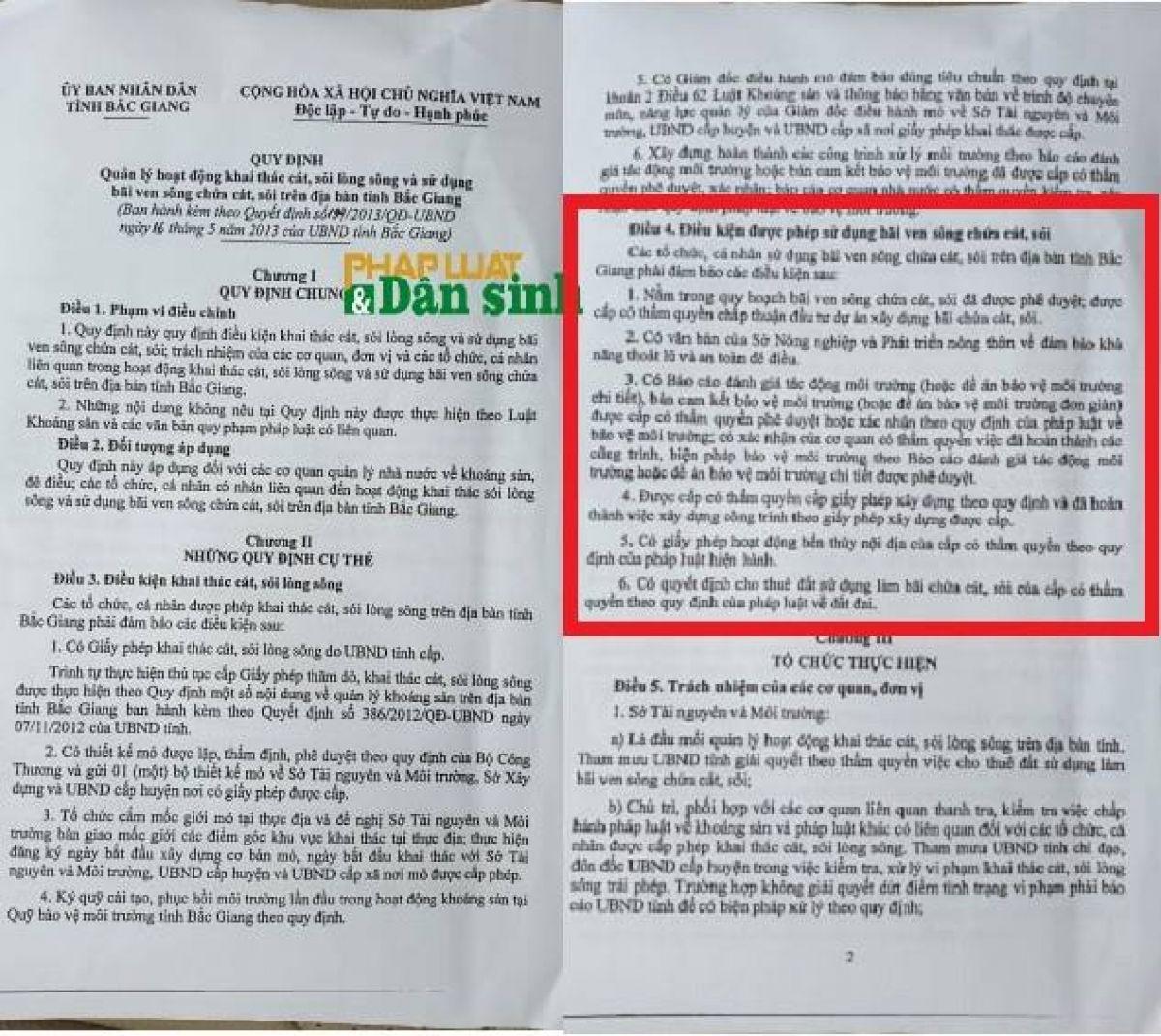 Bắc Giang: Trưởng phòng TN&MT huyện Hiệp Hòa tiết lộ người đứng sau các bãi tập kết không phép   - Ảnh 4