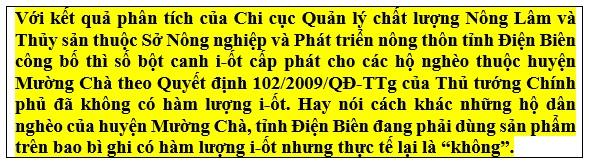 """Kỳ 3: Vạch mặt doanh nghiệp """"ăn bẩn"""" cả hạt muối của người nghèo ở Điện Biên? - Ảnh 3"""
