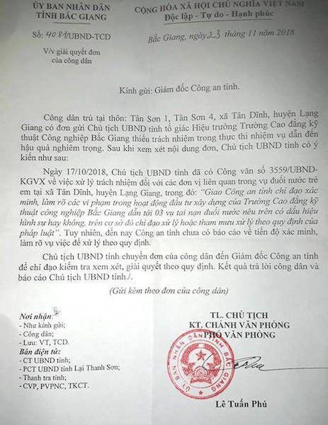 """Bắc Giang: Không khởi tố """"vụ 3 em nhỏ bị chết oan"""" gây hoài nghi cho dư luận? - Ảnh 1"""