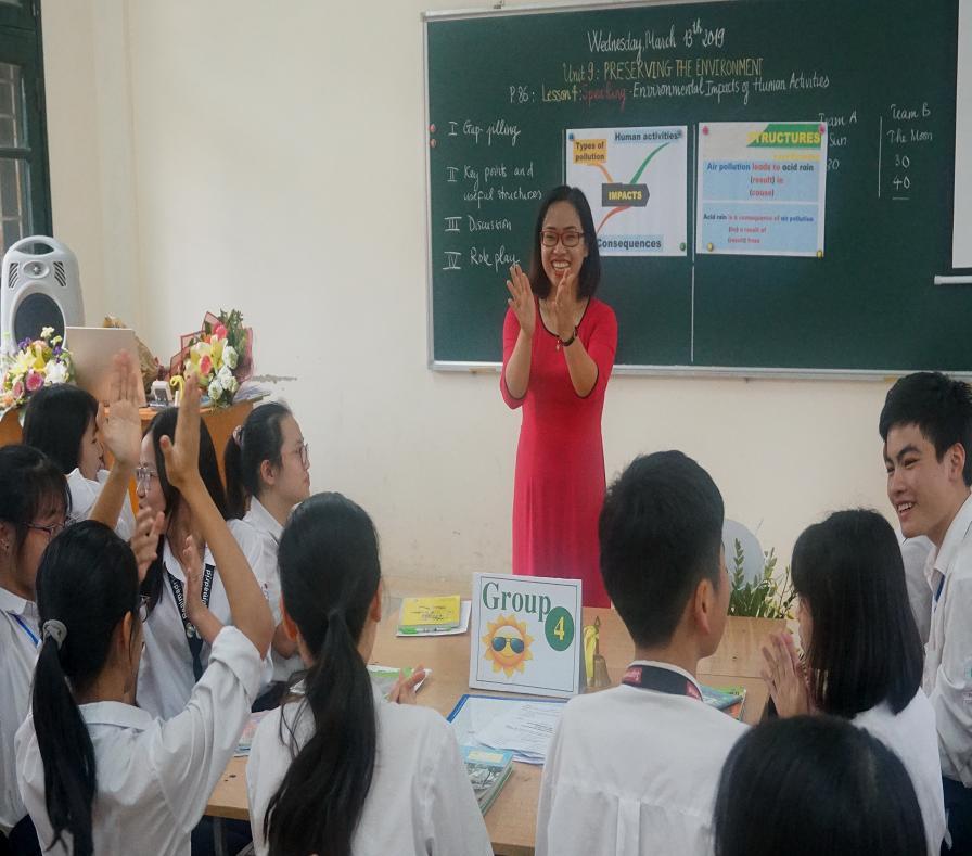 Trường THPT Cao Bá Quát (Gia Lâm- Hà Nội): Vững bước trong sự nghiệp 'trồng người' - Ảnh 2