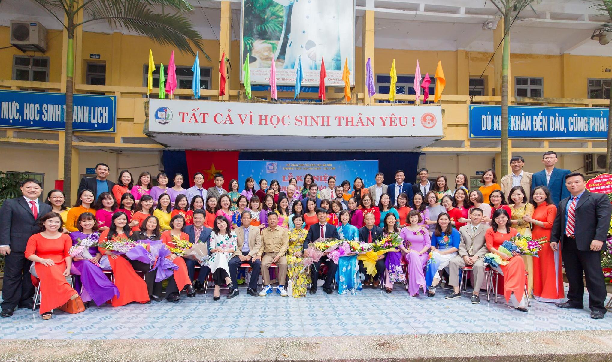 Trường THPT Cao Bá Quát (Gia Lâm- Hà Nội): Vững bước trong sự nghiệp 'trồng người' - Ảnh 1