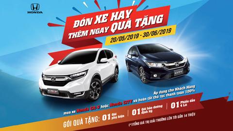 Honda Việt Nam triển khai chương trình khuyến mãi 'Đón xe hay, thêm ngay quà tặng' - Ảnh 1