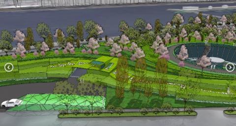 Bãi đỗ xe ngầm trong công viên Thủ Lệ hay Trung tâm Thương mại Dịch vụ tổng hợp có bãi xe ngầm? - Ảnh 1