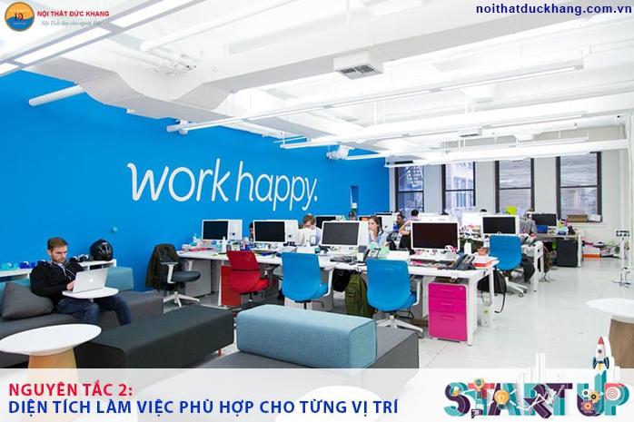 Nguyên tắc thiết kế văn phòng từ những startup thành công  - Ảnh 3