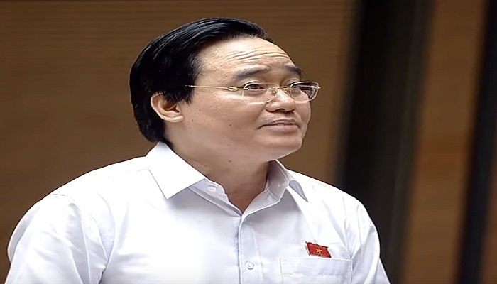 """Bộ trưởng Phùng Xuân Nhạ """"nhận trách nhiệm"""" trước Quốc hội về thiếu sót để xảy ra gian lận thi cử năm 2018 - Ảnh 1"""