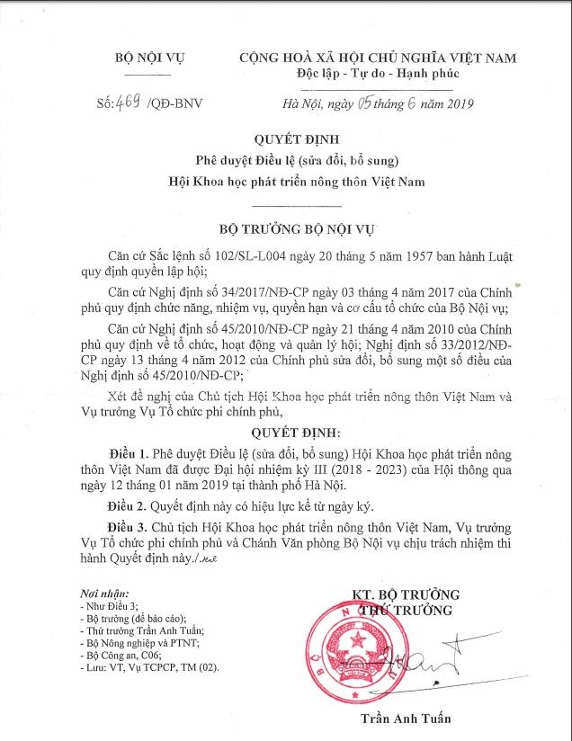 Hội Khoa học PTNT Việt Nam vững bước cùng Nông nghiệp, Nông thôn và Nông dân trên đà đổi mới - Ảnh 2