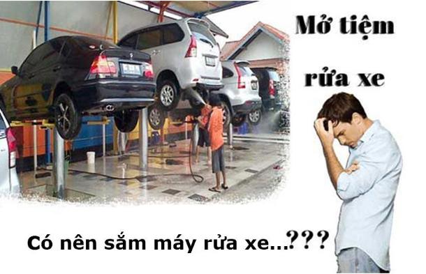 Điểm danh những mô hình rửa xe máy ô tô siêu lợi nhuận hiện nay - Ảnh 1