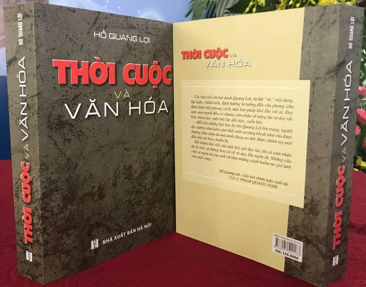 """Lễ ra mắt sách """"Thời cuộc và văn hóa"""" của tác giả Hồ Quang Lợi - Ảnh 1"""
