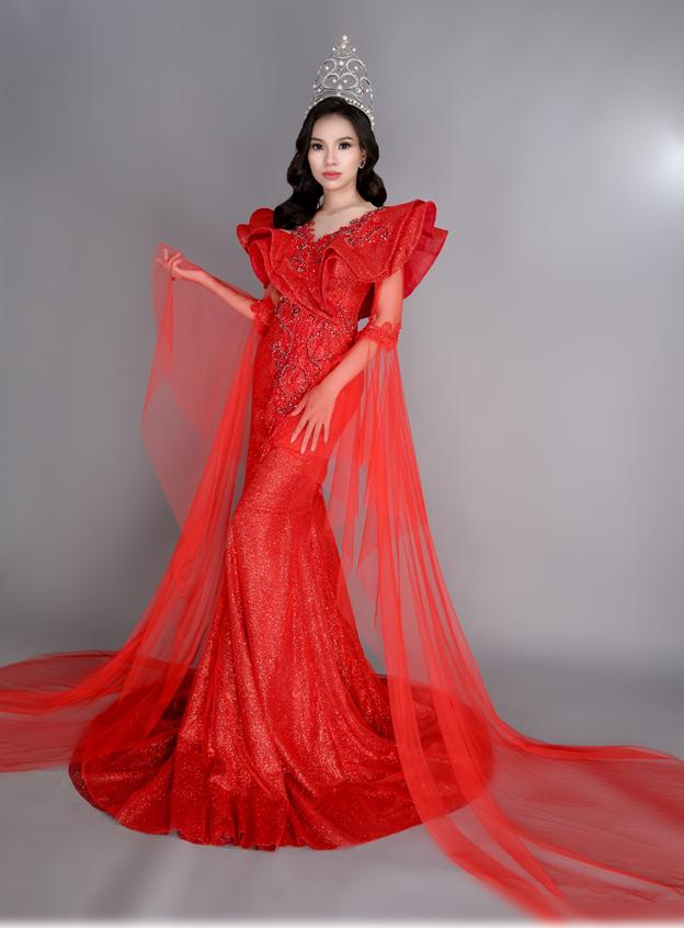 Hoa hậu Huỳnh Trâm tiếp tục kêu gọi các mạnh thường quân xây dựng cầu tình thương - Ảnh 2