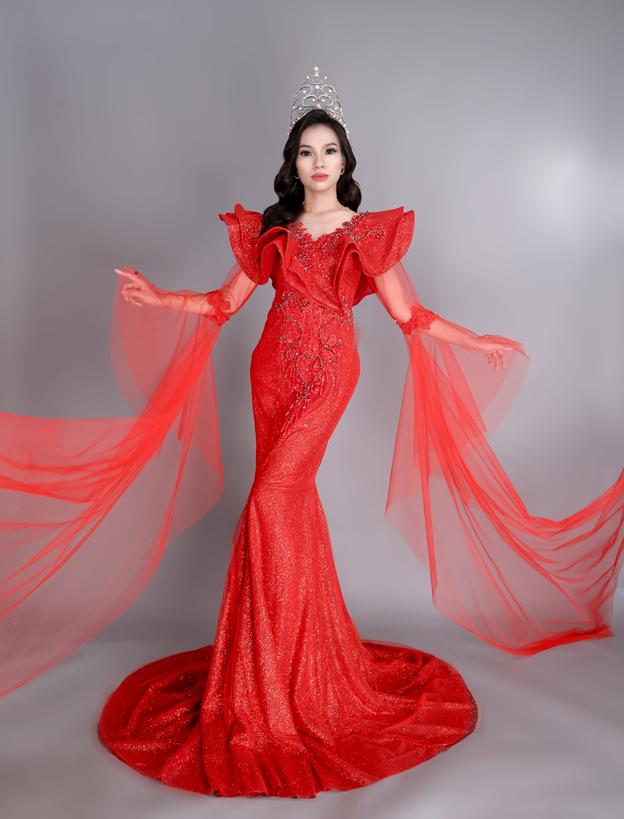 Hoa hậu Huỳnh Trâm tiếp tục kêu gọi các mạnh thường quân xây dựng cầu tình thương - Ảnh 4