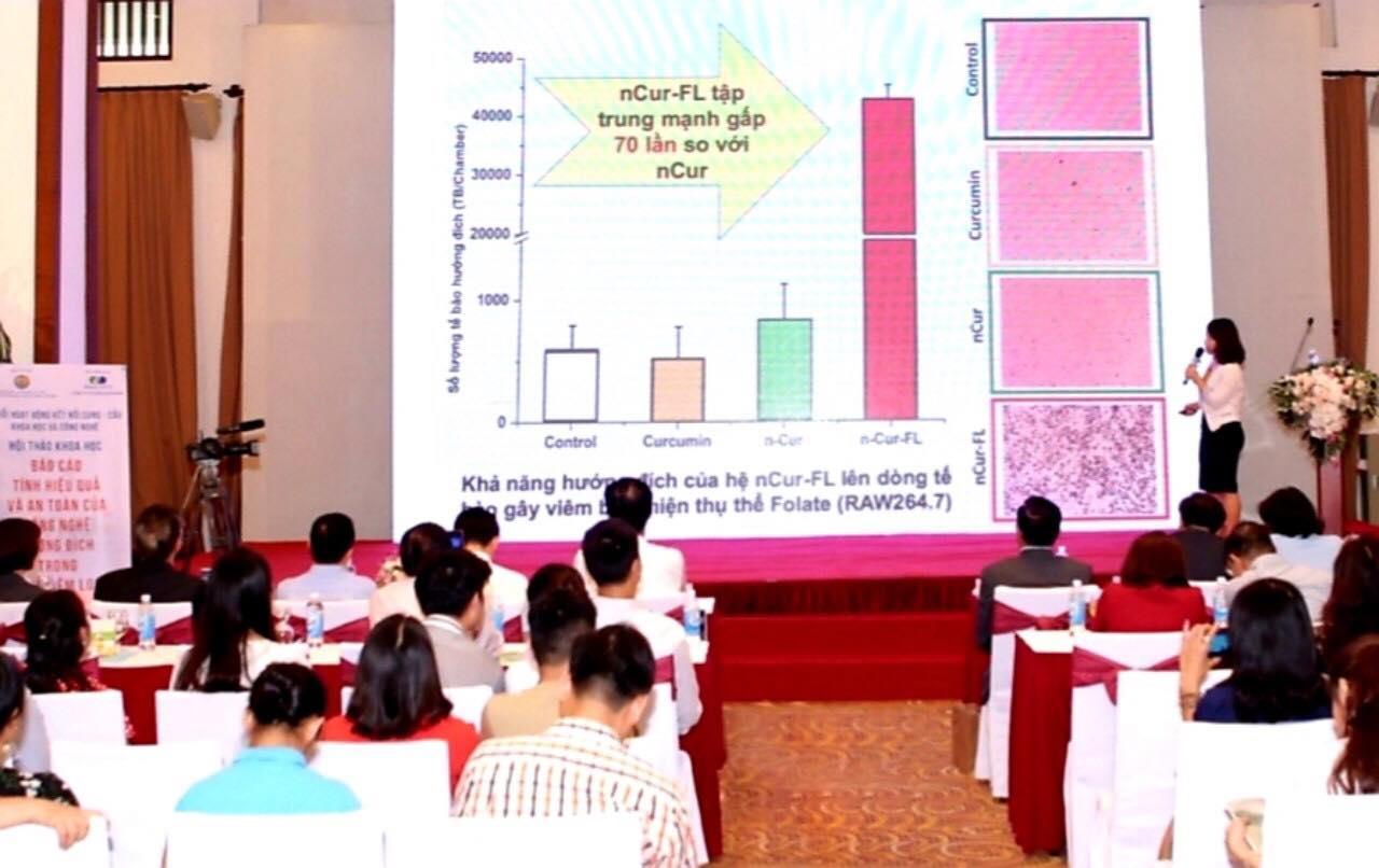 Hội thảo khoa học: Curcumin hướng đích tấn công tế bào viêm dạ dày mạnh hơn 70 lần Nano Curcumin thường! - Ảnh 2