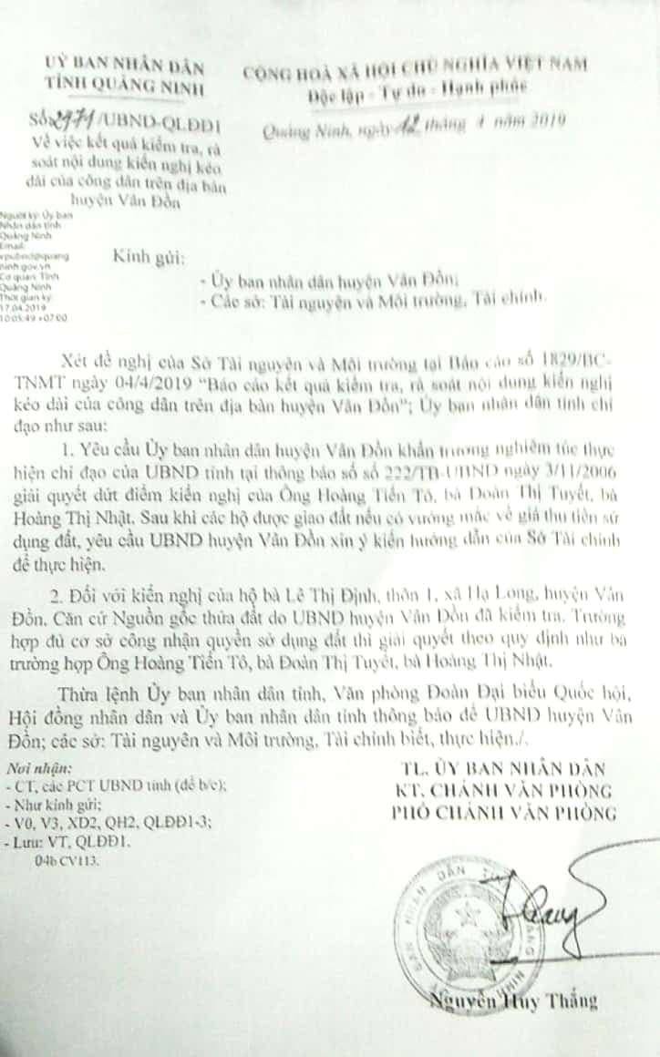 """Vân Đồn, Quảng Ninh: Người dân nhận tin vui sau 10 năm """"gõ cửa"""" các cơ quan chức năng - Ảnh 2"""
