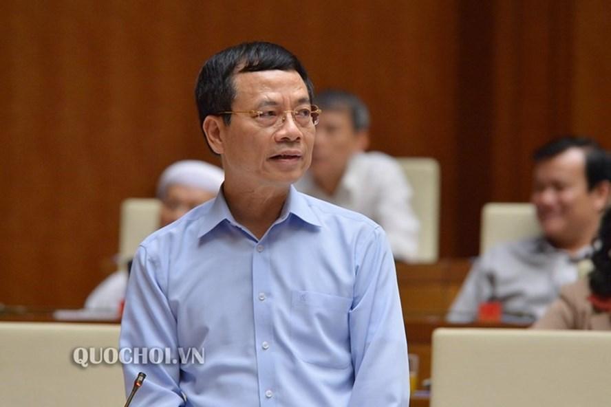 Bộ trưởng Nguyễn Mạnh Hùng: Không gian mạng cũng có rác, cần phải dọn thường xuyên! - Ảnh 2