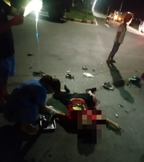 Thanh Oai - Hà Nội: Xe bồn va chạm với xe máy khiến một người tử vong tại chỗ và một người bị thương rất nặng - Ảnh 4