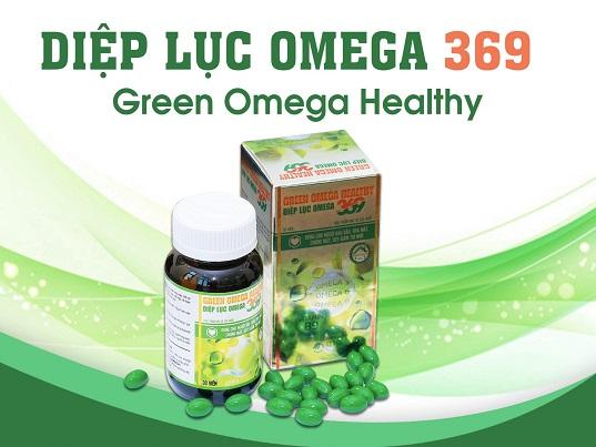 Diệp lục Omega 369 - Siêu phẩm hoàn hảo giúp tăng cường thị lực, tăng cường trí nhớ - Ảnh 1