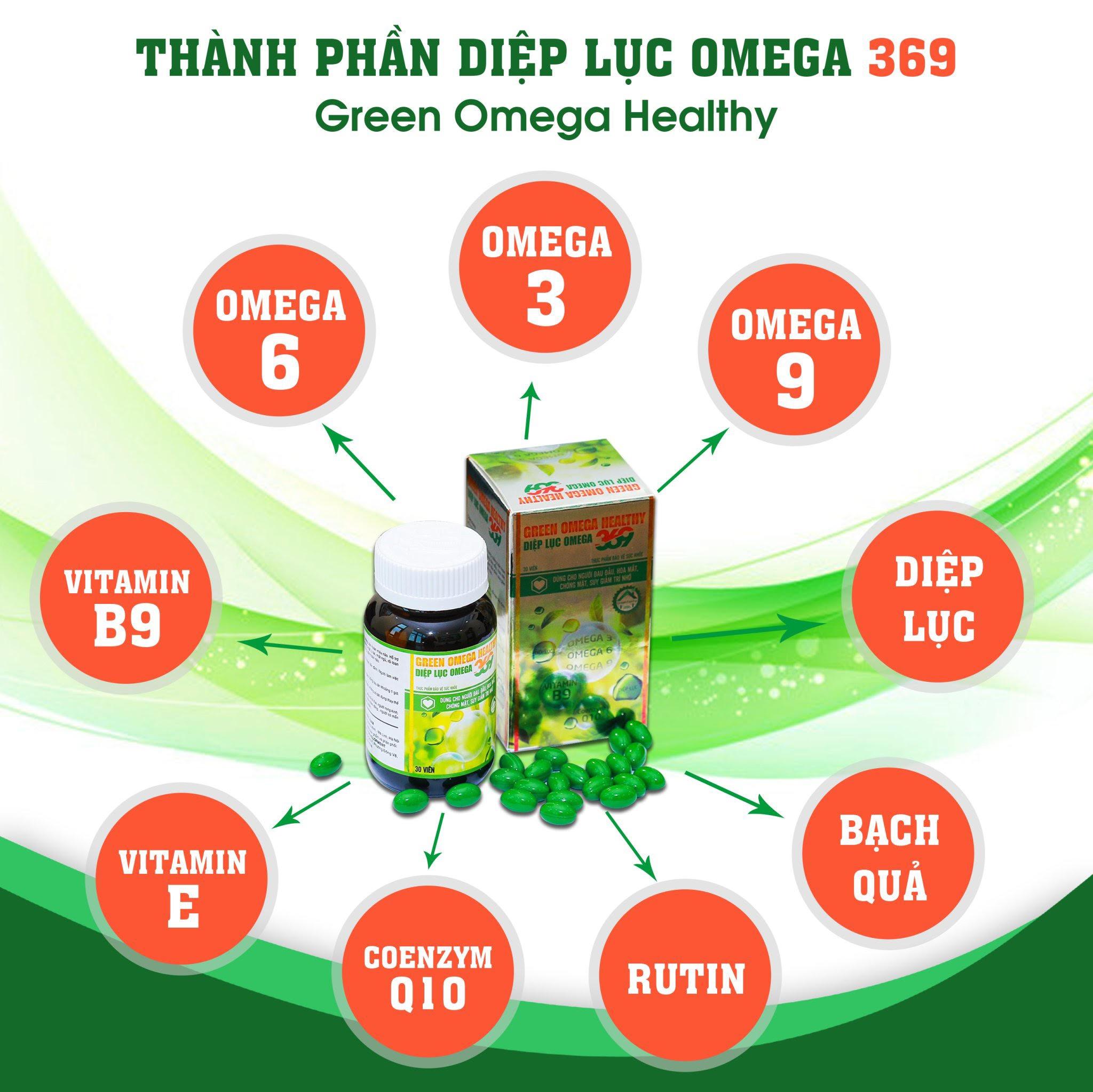 Diệp lục Omega 369 - Siêu phẩm hoàn hảo giúp tăng cường thị lực, tăng cường trí nhớ - Ảnh 4