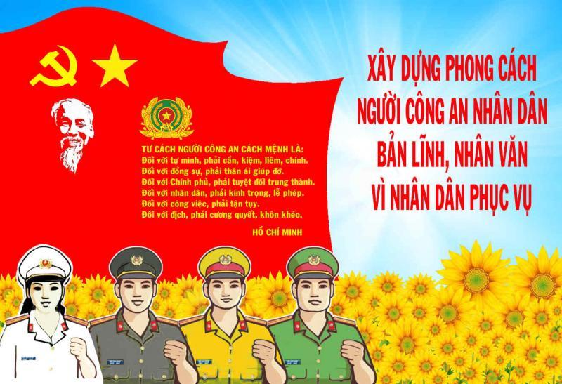 74 năm Ngày truyền thống lực lượng Công an Nhân dân: Những bước chân không mỏi - Ảnh 4