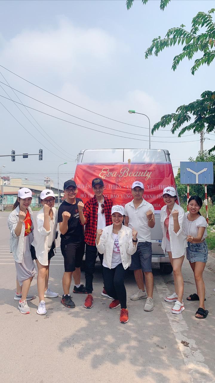 Thành viên thương hiệu Eva Beauty vượt 1.000km thực hiện 'Chuyến xe từ thiện – Chia sẻ yêu thương' - Ảnh 1
