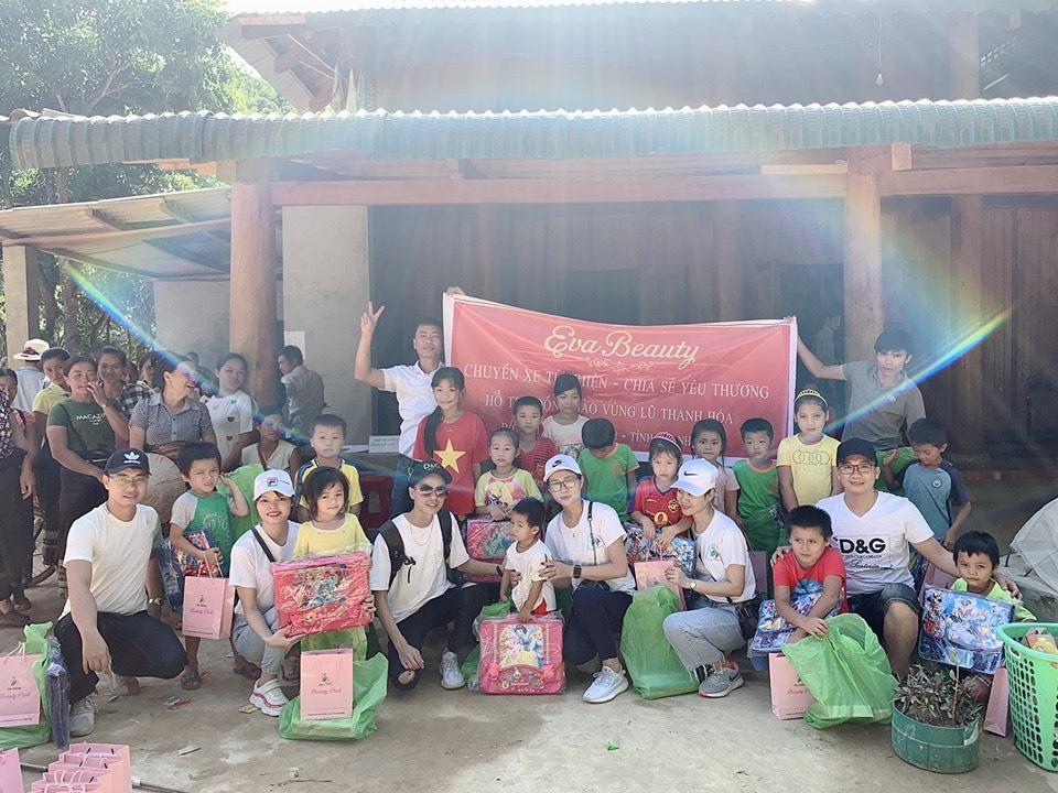 Thành viên thương hiệu Eva Beauty vượt 1.000km thực hiện 'Chuyến xe từ thiện – Chia sẻ yêu thương' - Ảnh 3