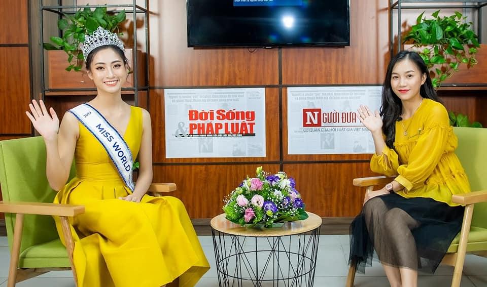 Hoa hậu Lương Thùy Linh và hành trang đi tới tương lai rộng mở - Ảnh 4