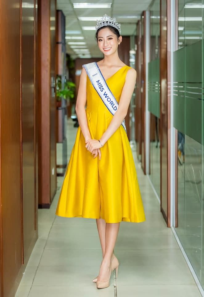 Hoa hậu Lương Thùy Linh và hành trang đi tới tương lai rộng mở - Ảnh 3