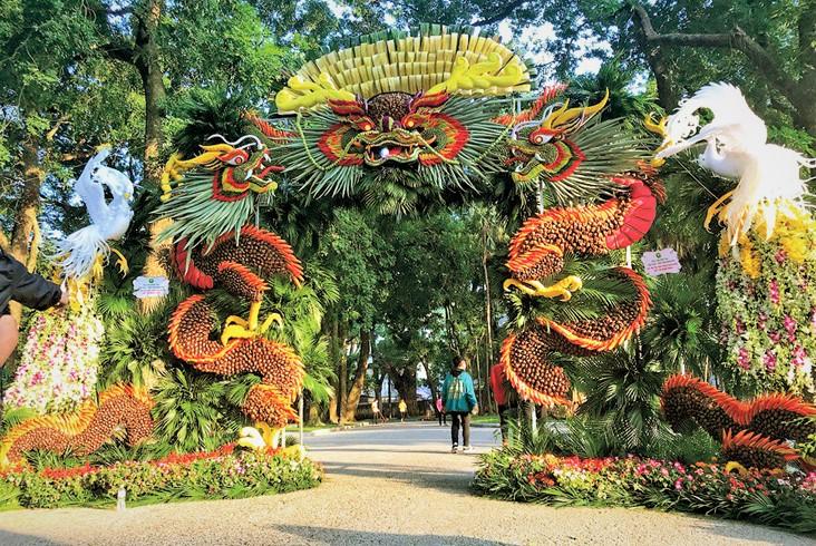 Nghệ thuật tạo hình kết tráp từ tinh hoa nông sản Việt  - Ảnh 7