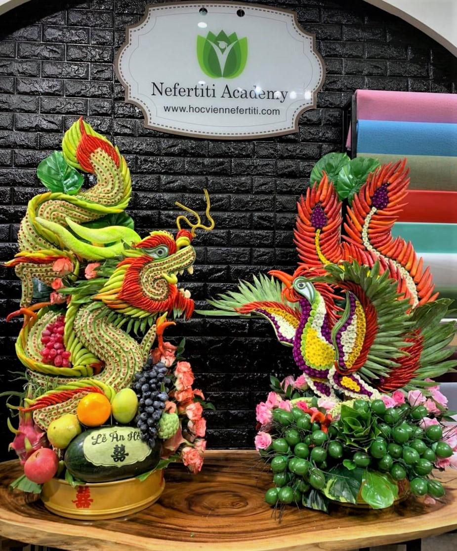 Nghệ thuật tạo hình kết tráp từ tinh hoa nông sản Việt - Ảnh 4