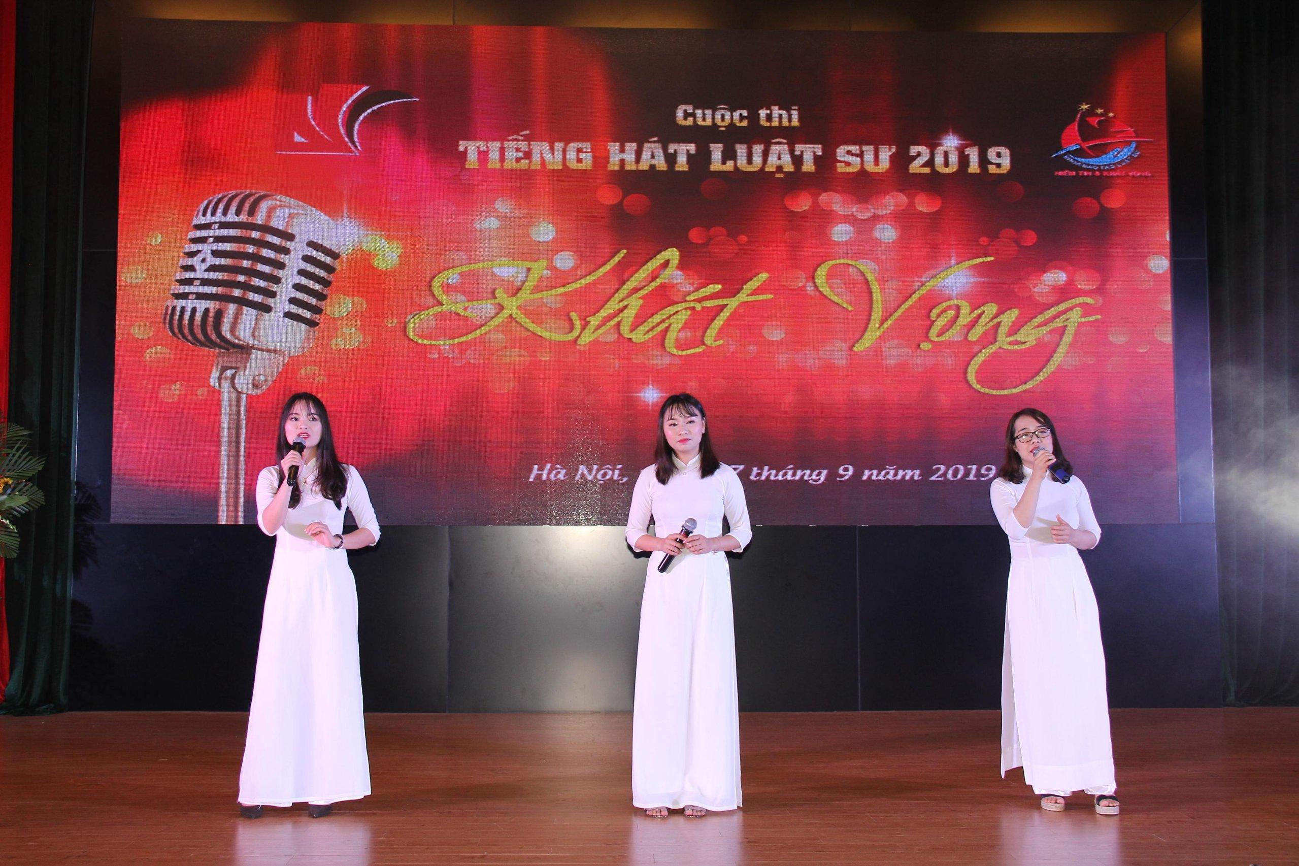 Cuộc thi Tiếng hát Luật sư 2019: Kỷ niệm 15 năm thành lập khoa Đào tạo luật sư – HVTP - Ảnh 7