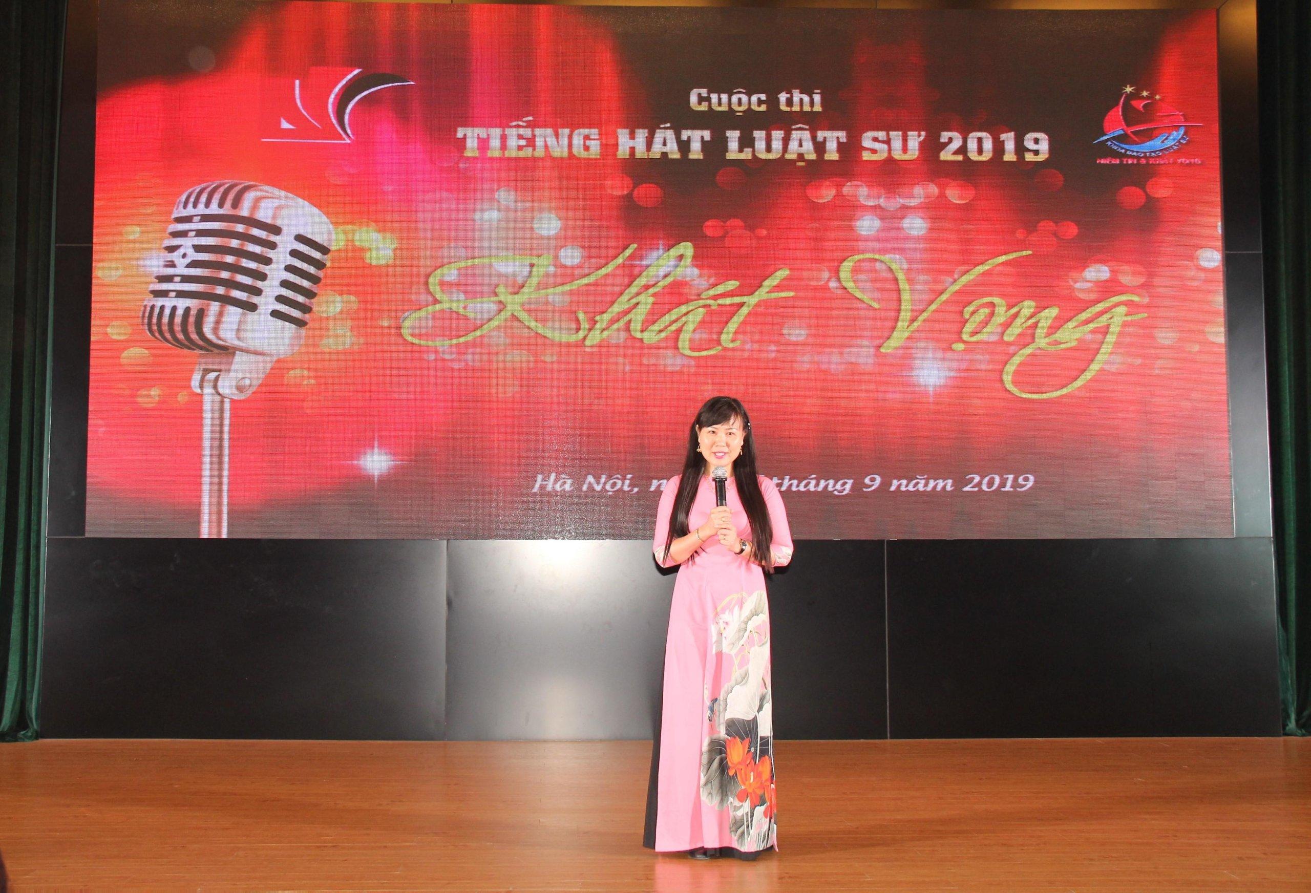 Cuộc thi Tiếng hát Luật sư 2019: Kỷ niệm 15 năm thành lập khoa Đào tạo luật sư – HVTP - Ảnh 2