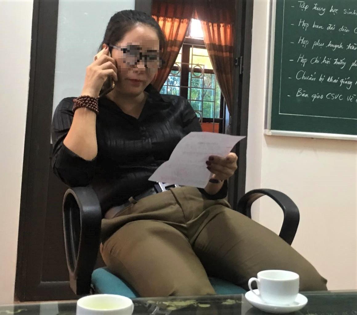 """Mỹ Đức - Hà Nội: Cần làm rõ vụ một giáo viên nhận gần 700 triệu đồng để """"chạy việc""""?  - Ảnh 3"""