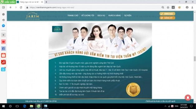 Thẩm mỹ viện Jarim quảng cáo dịch vụ không phép, lừa dối khách hàng? - Ảnh 2