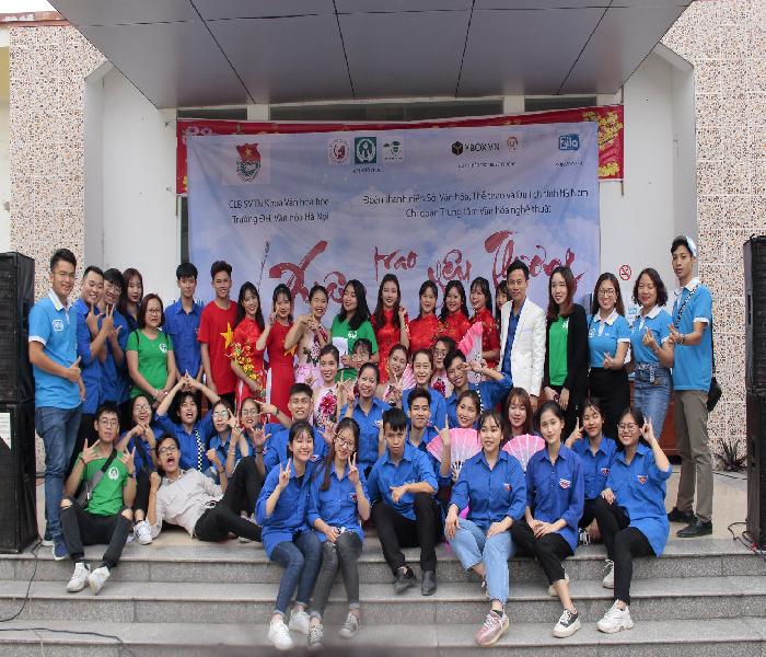 Cùng Zila VietNam và Đại học Văn hóa Hà Nội mang 'Xuân trao yêu thương 2020' đến với bệnh viện Phong Ba Sao - Ảnh 1
