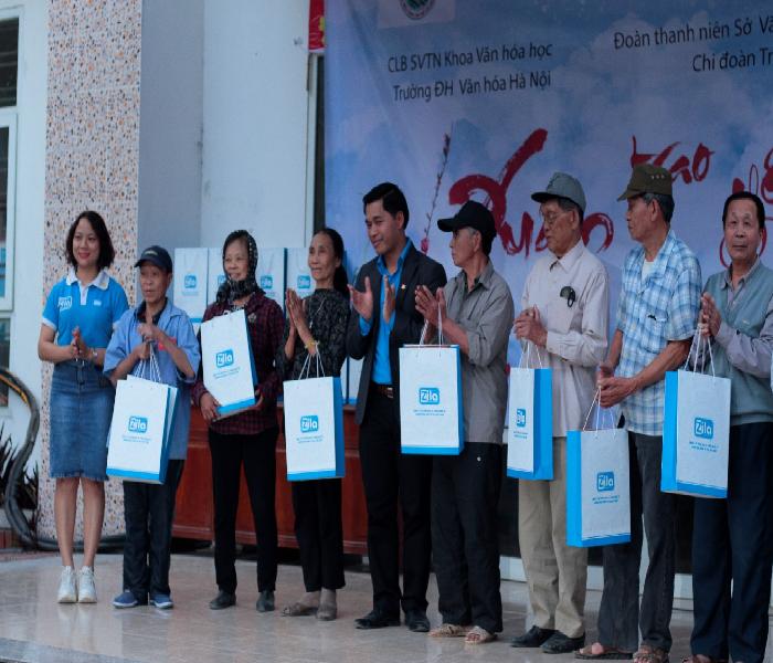 Cùng Zila VietNam và Đại học Văn hóa Hà Nội mang 'Xuân trao yêu thương 2020' đến với bệnh viện Phong Ba Sao - Ảnh 4