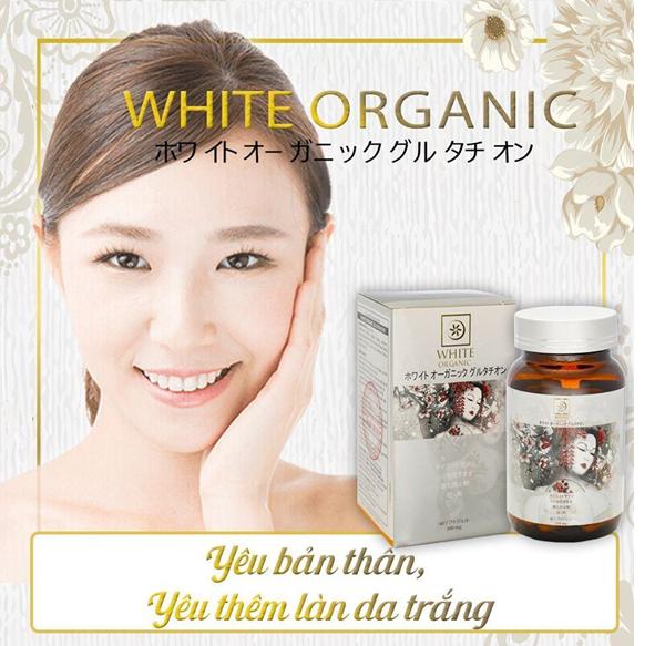 White Organic Glutathione 'Bí quyết đẩy lùi nếp nhăn, tàn nhang' - Ảnh 2