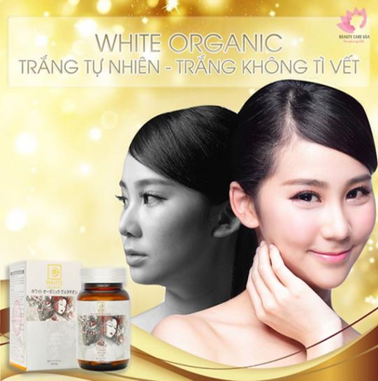 White Organic Glutathione 'Bí quyết đẩy lùi nếp nhăn, tàn nhang' - Ảnh 4