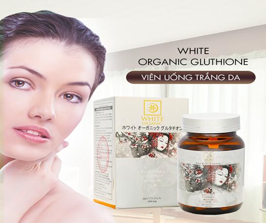White Organic Glutathione 'Bí quyết đẩy lùi nếp nhăn, tàn nhang' - Ảnh 5
