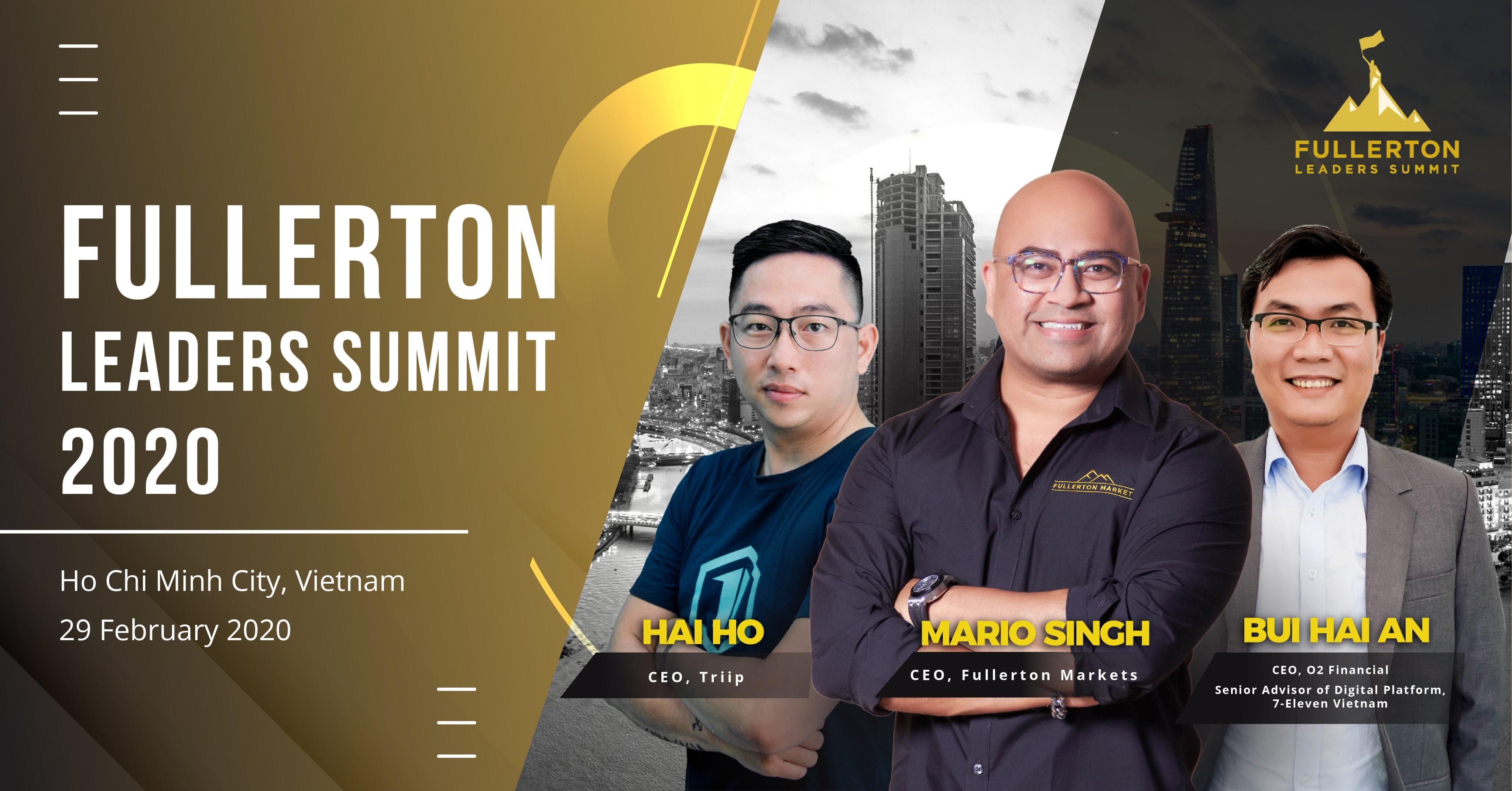 Hội nghị thượng đỉnh các nhà lãnh đạo Fullerton 2020 lần đầu tiên tổ chức tại thành phố Hồ Chí Minh - Ảnh 1