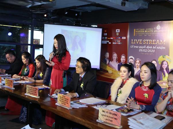 Livestream Trực tuyến toàn cầu của cuộc thi Master Beauty Awards Việt Nam Korea lần thứ 5 thành công tốt đẹp - Ảnh 4