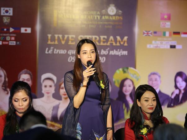 Livestream Trực tuyến toàn cầu của cuộc thi Master Beauty Awards Việt Nam Korea lần thứ 5 thành công tốt đẹp - Ảnh 7