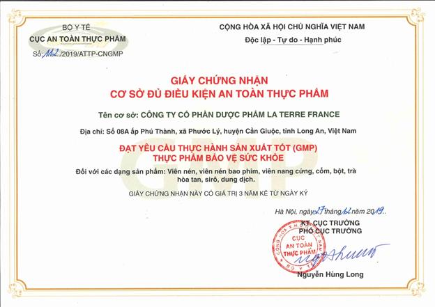Khánh thành Nhà máy dược phẩm thực phẩm chức năng LA TERRA FRANCE  hàng triệu USD chuẩn công nghệ Pháp trên đất Việt - Ảnh 11