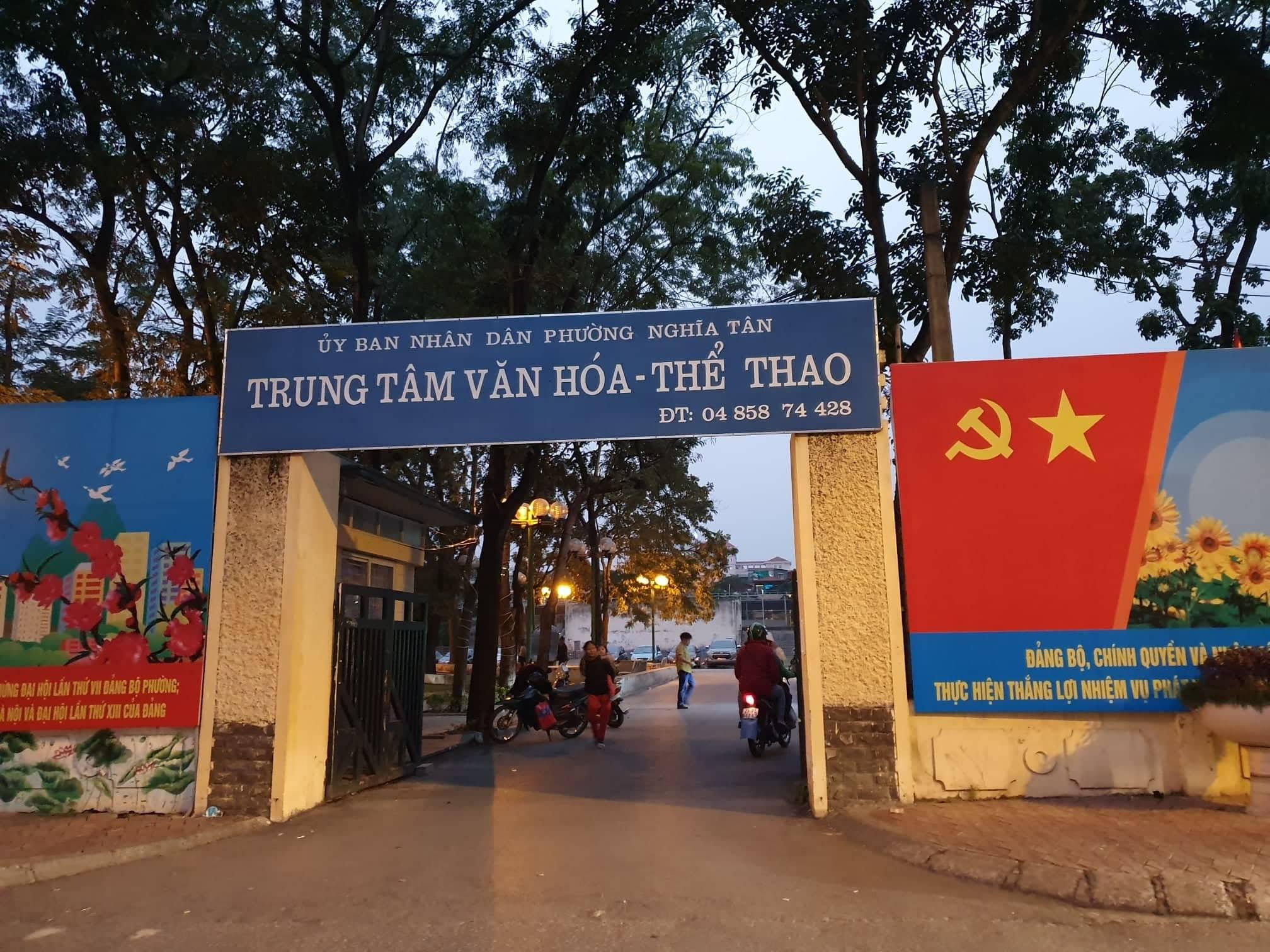 """Nghĩa Tân (Cầu Giấy, Hà Nội): """"Hô biến"""" Trung tâm văn hóa thành bãi trông giữ xe, thu lợi bất chính? - Ảnh 1"""