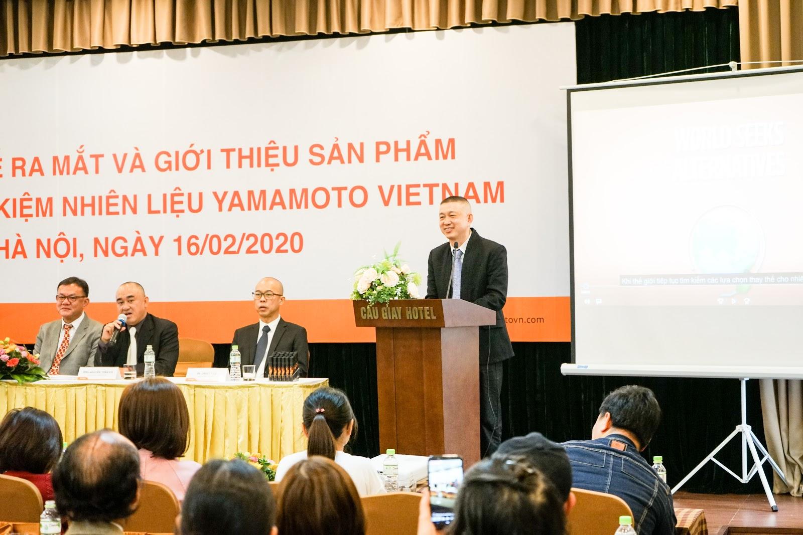 Yamamoto - Viên nén tiết kiệm nhiên liệu từ Nhật Bản ra mắt thị trường Việt Nam - Ảnh 2