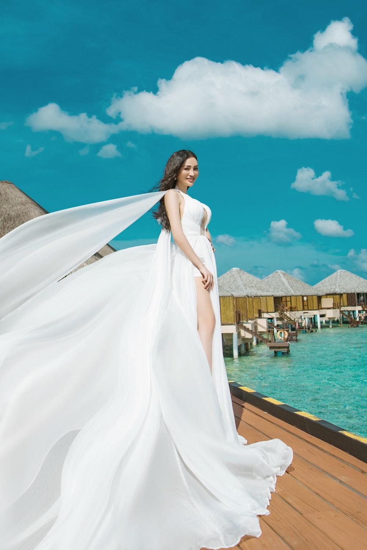 CEO Trần Huyền Nhung chịu chi 3000 usd một đêm tại Resort Maldives - Ảnh 3