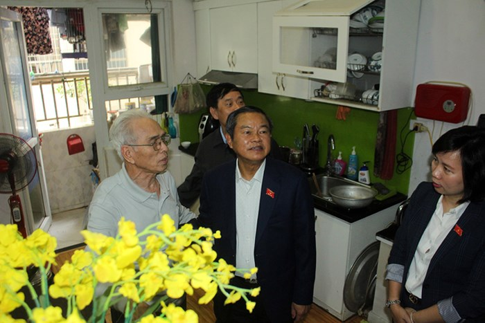 Phó Chủ tịch Quốc hội Đỗ Bá Tỵ: Chung cư Tập đoàn Mường Thanh về cơ bản đã đảm bảo an toàn Phòng cháy, chữa cháy cho người dân - Ảnh 4