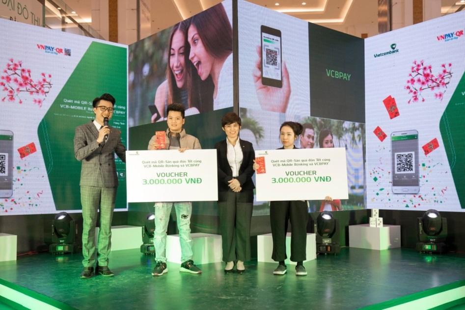 Vietcombank đẩy mạnh thanh toán qua mã QR - Ảnh 5