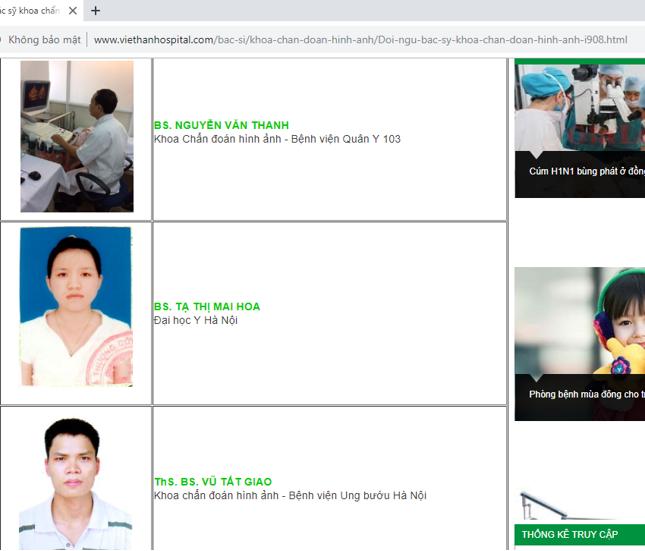 Bài 1: Phòng khám đa khoa Việt Hàn lợi dụng hình ảnh bác sỹ để đánh bóng tên tuổi? - Ảnh 2
