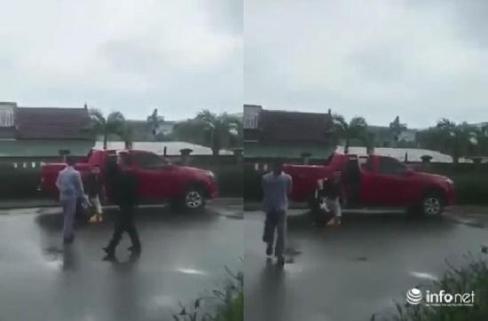 Hà Tĩnh: Tạm giữ cựu cán bộ công an đánh vợ cũ dã man - Ảnh 1